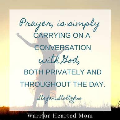 Practical ways to take your prayer life from non-existant or mediocre to vibrant and thriving!